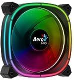 Aerocool ASTRO12, ventilador PC 12 cm, 18 LED RGB, 6 pines