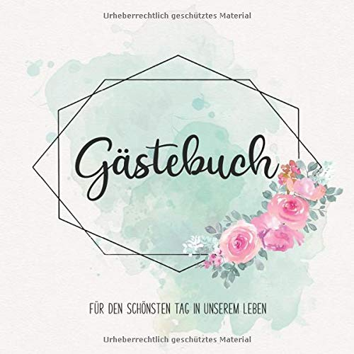 Gästebuch: Erinnerungsalbum zum Ausfüllen für die Hochzeit | Erinnerungsbuch mit Fragen als...