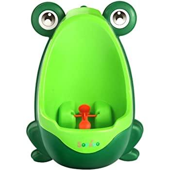 Kids Baby Toddler Boy Frog Potty Urinal Pee Toilet Travel Home Training QY