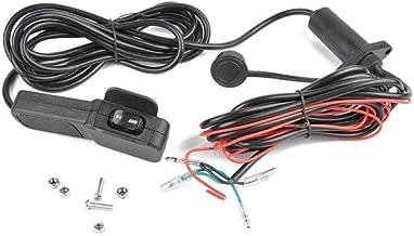 Universal 12V UTV ATV Winch Corded Thumb Switch Control Line Kit ATV Accessories
