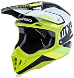 Acerbis casco impact 3.0 bianco/verde xxl