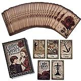 GUOHAPPY Under The Roses Lenormand Cards: Cartas del Tarot Y Libro para Principiantes Set de Cartas,Cartas de Juego de Cartas de Tarot para Fines Domésticos Y de Fiesta