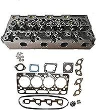 New Complete Diesel Cylinder Head & Upper Gasket Set for Kubota V2203-M