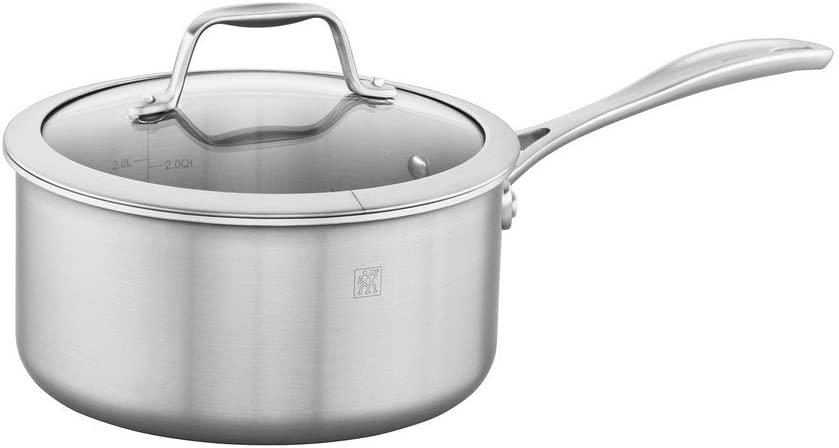 New product type Zwilling Spirit Stainless NEW before selling Saucepan Steel 3-qt