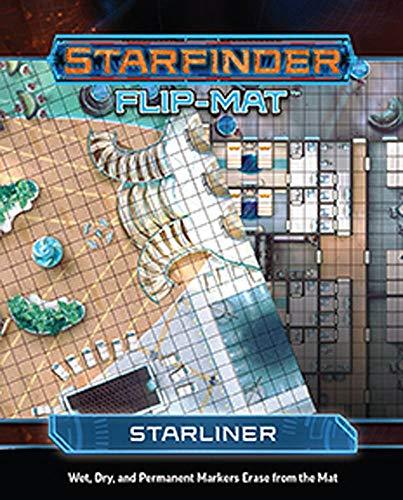 Starfinder Rpg Flip Mat Starliner