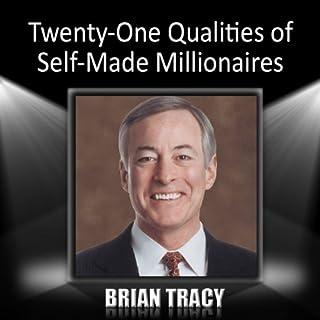 Twenty-One Qualities of Self-Made Millionaires audiobook cover art