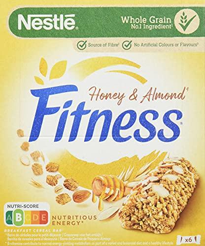 Cereales Nestlé Barritas Nestlé Fitness 141g - Pack de 8