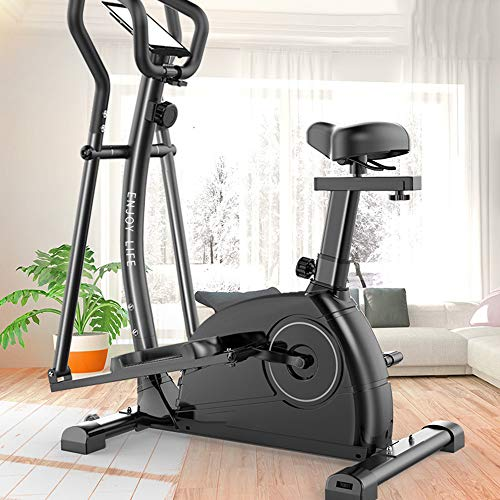 Amazing Deal Nuomeisi 3 in 1 Running Stepper Elliptical Machine Home Magnetic Control Exercise Bike ...