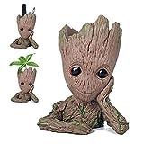 Maye Baby-Groot Blumentopf/Stifthalter - Innovative Action-Figur aus Filmklassiker I AM Groot, Für...