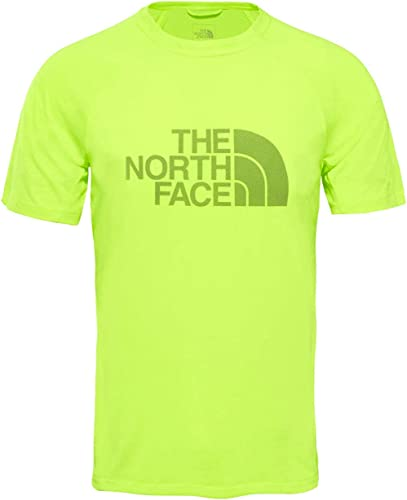 The North Face M Flumière BTN ATH S S Camiseta, Hombre, jaune, XL