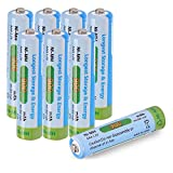 Tera AAA Pile Rechargeable Ni-MH 900mAh 1.2V 1200 Cycles à Faible Auto-décharge...