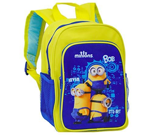 Minions Despicable me Rucksack Kindergarten Tasche inklusive Sticker von Kids4shop