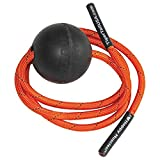 "Tiger Tail Tiger Ball 2.6 Foam Roller Ball + 55"" Corded Rope – Deep Tissue Massage Ball: Feet, Legs, Neck, Back – Trigger Point Massage Therapy – Relieve Muscle Soreness – Muscle Recovery"