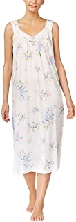 Charter Club Printed Sleeveless Cotton Knit Nightgown Fall Floral XS