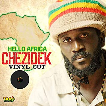 Hello Africa: Vinyl Cut