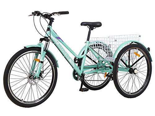 Barbella Adult Mountain Bike, 7 Speed...