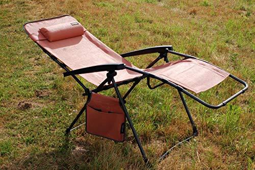Westfield Relax Lounger Relaxliege XL orange Textilene Bezug