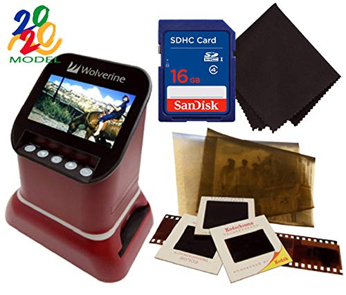 Cheapest Price! Wolverine F2D Saturn Digital Film & Slide Scanner - Converts 120 Medium Format, 127 ...