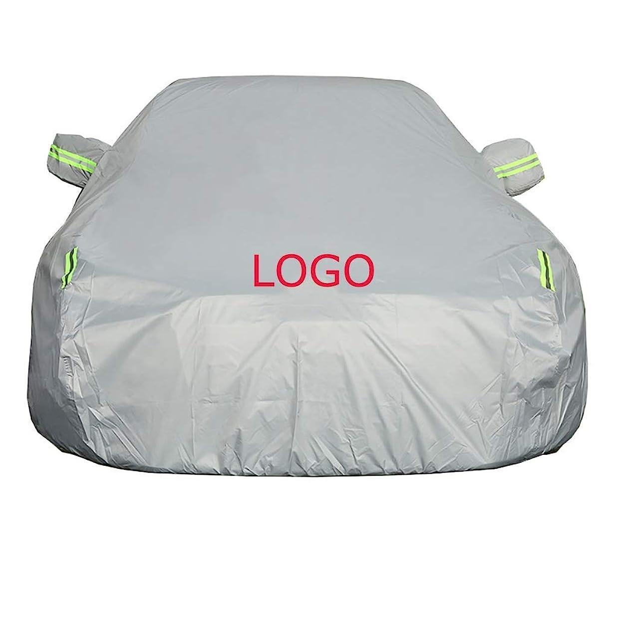 お願いします間違いなく累積ロゴ防水日焼け止め夏のカーカバーUVプロテクションカー服フィットHYUDNAI付きのカーカバーHYUDNAI (Size : Avante)