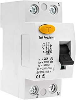 30mA 25A AC P+N Schneider Electric A9N21741 Bloque Diferencial Vigi DPN c