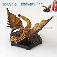 VKISI 3Pcs/Lot Rian Day Game Action Figure Toys Monster Hunter Rat S Goa Magara Akantor Dinovaldo PVC Dragon Model Toy Must Have Tools 5 Year Old Girl Gifts My Favourite Superhero Dream