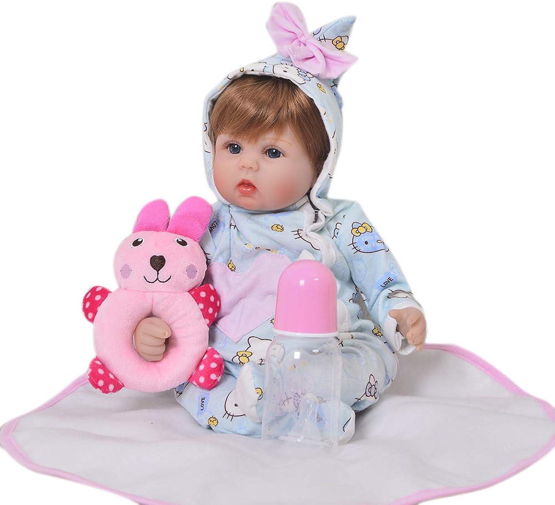 MGF Reborn Baby, Soft Simulation Vinyl 17 Zoll 43 cm Geburtstagsgeschenk für Kinder B07MG3NTPZ Auktion  | Qualität und Quantität garantiert