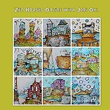 Illustrative Online Workshop E-Course - Zen Houses acrylic painting class with Jodi Ohl