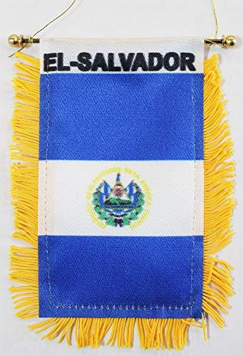 El Salvador - Window Hanging Flag