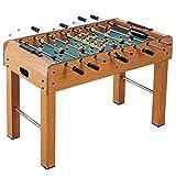 Piarner 48 pulgadas de niños for adultos futbolín interactivo entre padres e hijos juguete de alta p...