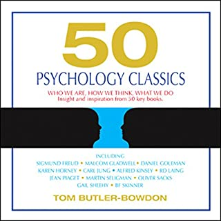 50 Psychology Classics audiobook cover art
