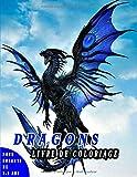Livre de coloriage Dragons Pour Enfants De 3-9 ans: Livre d'activités pour enfants, Un beau cadeau pour les garçons, les filles, les jeunes enfants.