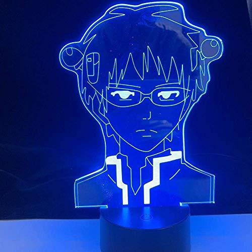Luz de noche de Anime 3D, regalo de Navidad de cumpleaños,lámpara K, la desastrosa vida deK para dormitorio, lámpara acrílica, decoración, luz nocturna, ventiladores para niños