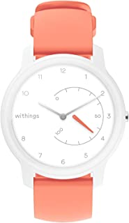 Withings Move Activity Tracker Smart Watch, White/Coral