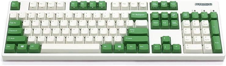 Filco Majestouch Convertible 2 Green and Cream White Red Switch FKBC104MRL/EWG2