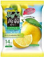 オリヒロプランデュ ぷるんと蒟蒻ゼリーパウチ レモン 6個入 ×8袋