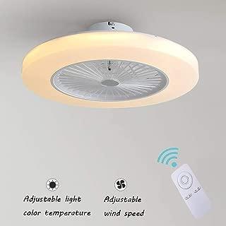 Ventilador de Techo con Lámpara, 36W Creativo Ventilador