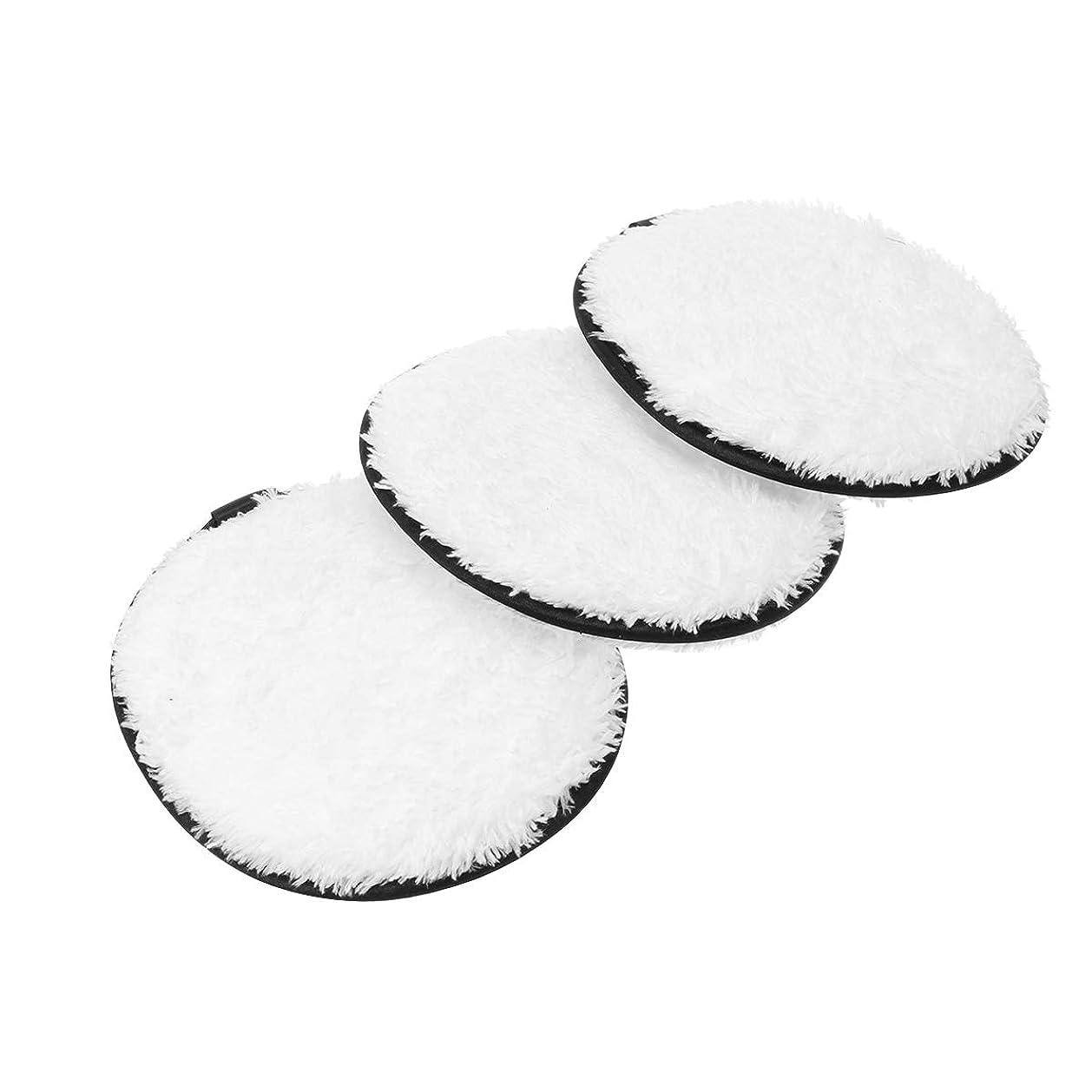 柔らかさサバントベッドSUPVOX 3本化粧落としパッド綿ラウンドフェイスワイプ