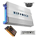 Hifonics BG-1900.1D Brutus Gamma 1900 Watts Mono Subwoofer Car Audio Amplifier Super Class D Built-in Bass Control, Remote Included + Gravity Magnet Phone Holder Bundle