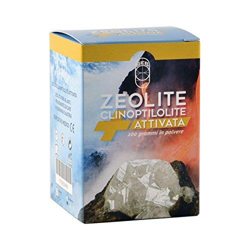 Zeolite Clinoptilolite Attivata al 100% - 100g in polvere - Dispositivo Medico di classe 2a e adatto all'uso orale