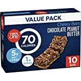 Fiber One 70 Calorie Bar Chocolate Peanut Butter, 10 Count (Pack of 6)