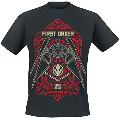 Star Wars Episode 9 - Der Aufstieg Skywalkers - Tie Fighter Squadron Männer T-Shirt schwarz L