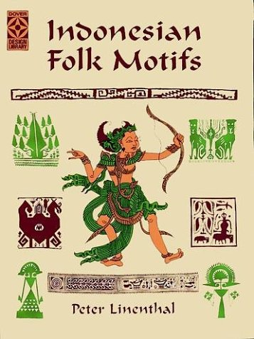 Indonesian Folk Motifs (Dover Design Library)