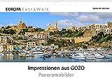Impressionen aus GOZO - Panoramabilder (Wandkalender 2022 DIN A2 quer): Die kleine Schwester der Hauptinsel Malta fasziniert durch ländliches, ... im Jahr (Monatskalender, 14 Seiten )