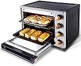 32L Horno eléctrico Horno Multifunción Tostador de alta capacidad DIY Torta Baker Cocina Horno eléctrico