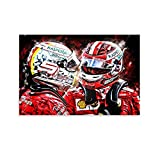 Huangchen F1 Racing Driver Charles Leclerc Sebastian Vettel