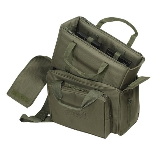 Voodoo Tactical Two-In-One Full Size Range Bag Padded 15-7871 Olive Drab