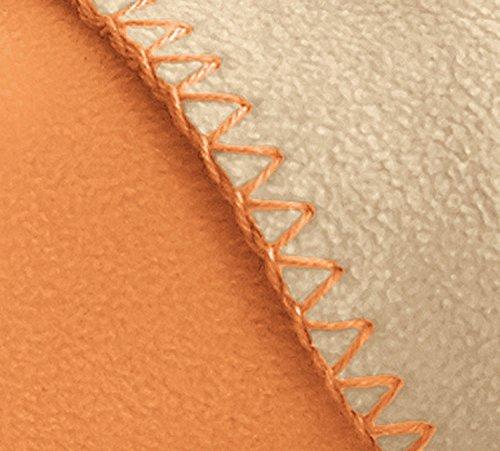Irisette Wohndecke Microfaser Zimt Größe 130x170 cm