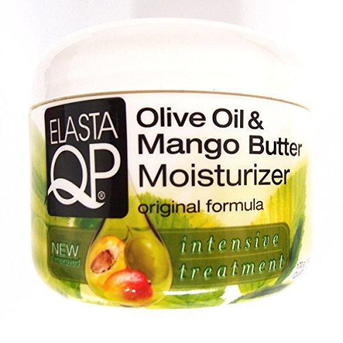 Elasta QP Olive Oil and Mango Butter Moisturizer, 6 oz