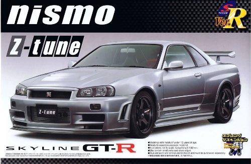 Aoshima 042502 Nismo Skyline GT-R Z-Tune 1:24 Plastic Kit Maquette