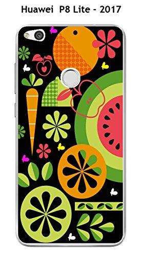 Onozo Carcasa para Huawei P8 Lite – 2017, diseño Fruta